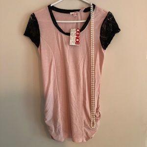 NWT Bongo pink top